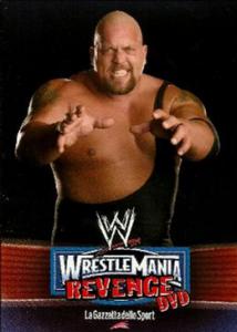 2012 WWE Wrestlemania Revenge DVD Post Cards (Italy)