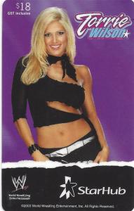 2003 WWE StarHub Collectible Phone Cards