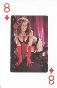2013 TNA Knockouts Playing Cards