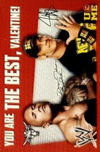 2013 WWE PMG Valentine's Day Cards