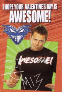 2014 WWE PMG Valentine's Day Cards