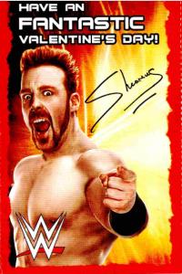 2015 WWE PMG Valentine's Day Cards