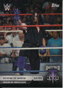 2020 WWE Topps 30 Years of The Deadman On Demand Set