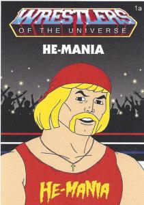 2020 Retro Sketch Wrestlers Of The Universe