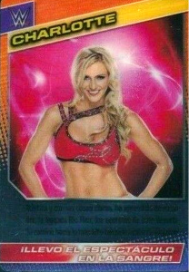 2015 WWE Panini Action Cards (Spanish)