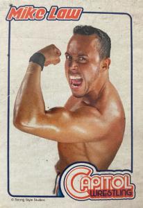 2018 Capitol Wrestling Cards Vol. 1