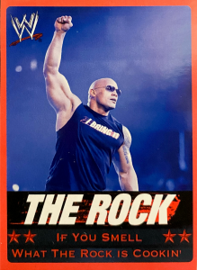2012 WWE Wrestling Stats Vending Machine Cards