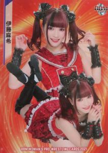 2021 BBM True Heart Woman's Pro-Wrestling (Japan)