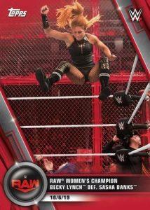 2020 WWE Topps Women's Division