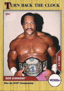 2021 WWE Topps Turn Back The Clock On-Line Exclusive