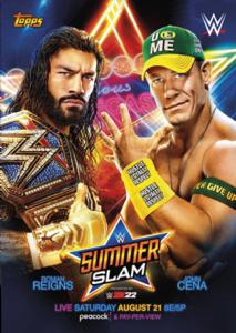 2021 WWE Topps On-Demand Summer of Cena