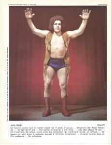 1973 Grand Prix Wrestling Derniere Heure