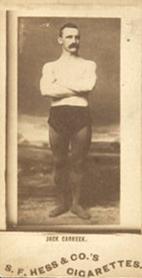 1889 Hess Cigarettes Athletes & Celebrities Set