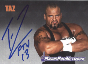 2021 Major Pod Network Autograph Collection